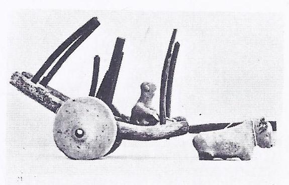 Bullock cart from Mohenjo-Daro