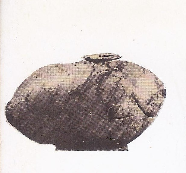3000 BC Pre-dynastic stone vase in the form of a dish.