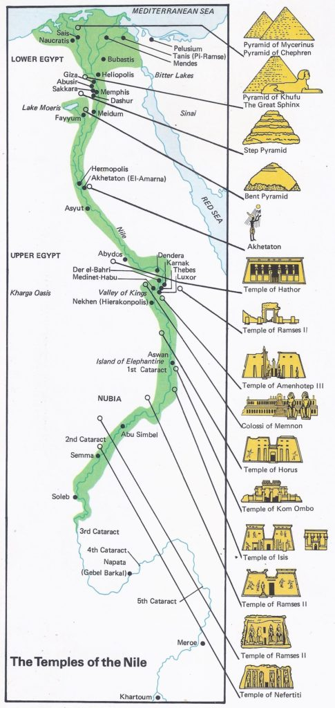The Temples of the Nile